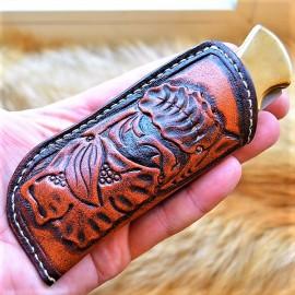 Ножны кожаные (на заказ) MS23