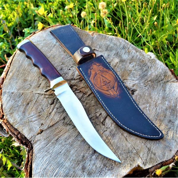 Ножны (чехол) для ножа  кожа РД, ручная работа, на заказ арт MSA20