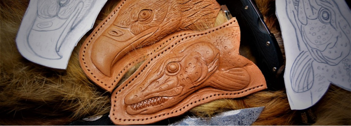 Кожаные ножны на заказ
