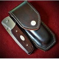 Ножны (чехол) для складного ножа кожа РД, ручная работа, на заказ арт MS13