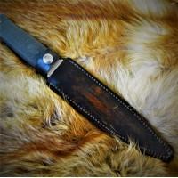 Ножны (чехол) для ножа, кожа РД, ручная работа, на заказ арт MS17