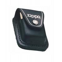 Кожаный чехол с петлёй Zippo модель LPLBK