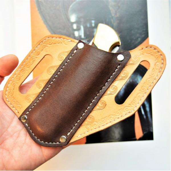 Ножны кожаные для складного ножа Buck 110 арт. rklkl6