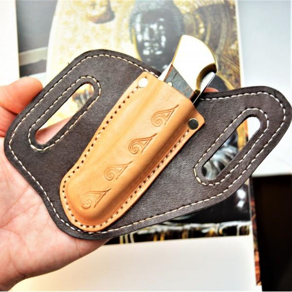 Ножны кожаные для складного ножа Buck 110 арт. rklkl7