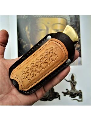 Ножны кожаные для складного ножа арт. klkl2