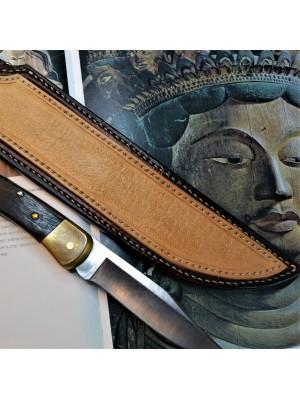 Ножны кожаные для ножа с фиксированным клинком арт klk 50