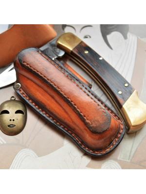 Ножны обжимные для складного ножа, горизонтальный подвес et1