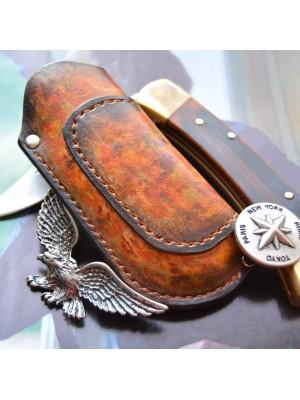 Чехол для складного ножа Buck 110, вертикальный подвес et5