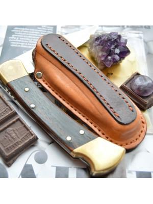 Ножны обжимные для складного ножа Buck 110, вертикальный подвес et6