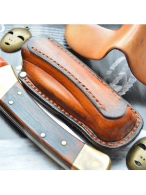 Ножны обжимные для складного ножа Buck 110, горизонтальный подвес et1