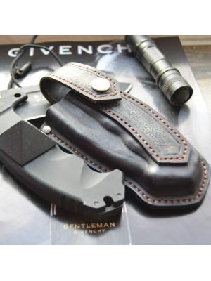 Ножны обжимные для складного ножа, вертикальный подвес et16