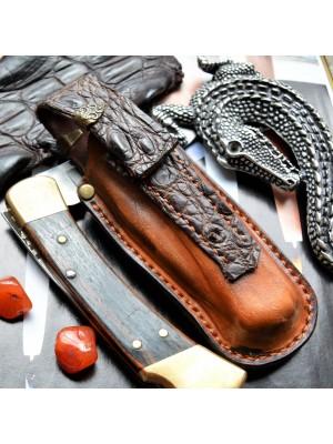 Ножны обжимные для складного ножа Buck 110, клипса et24