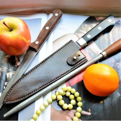Чехол кожаный для кухонного ножа арт et27